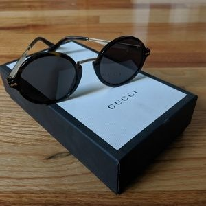 Gucci GG1156/S Tortoise Sunglasses